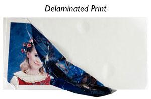 Water Damaged Print