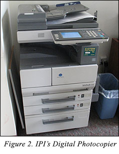 IPI's Digital Photocopier