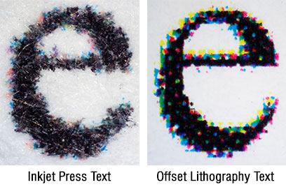 Inkjet vs Offset Comparison