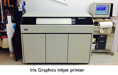 Iris Graphics inkjet printer