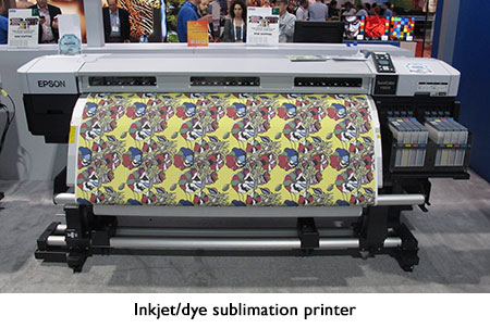 Inkjet/dye sublimation printer